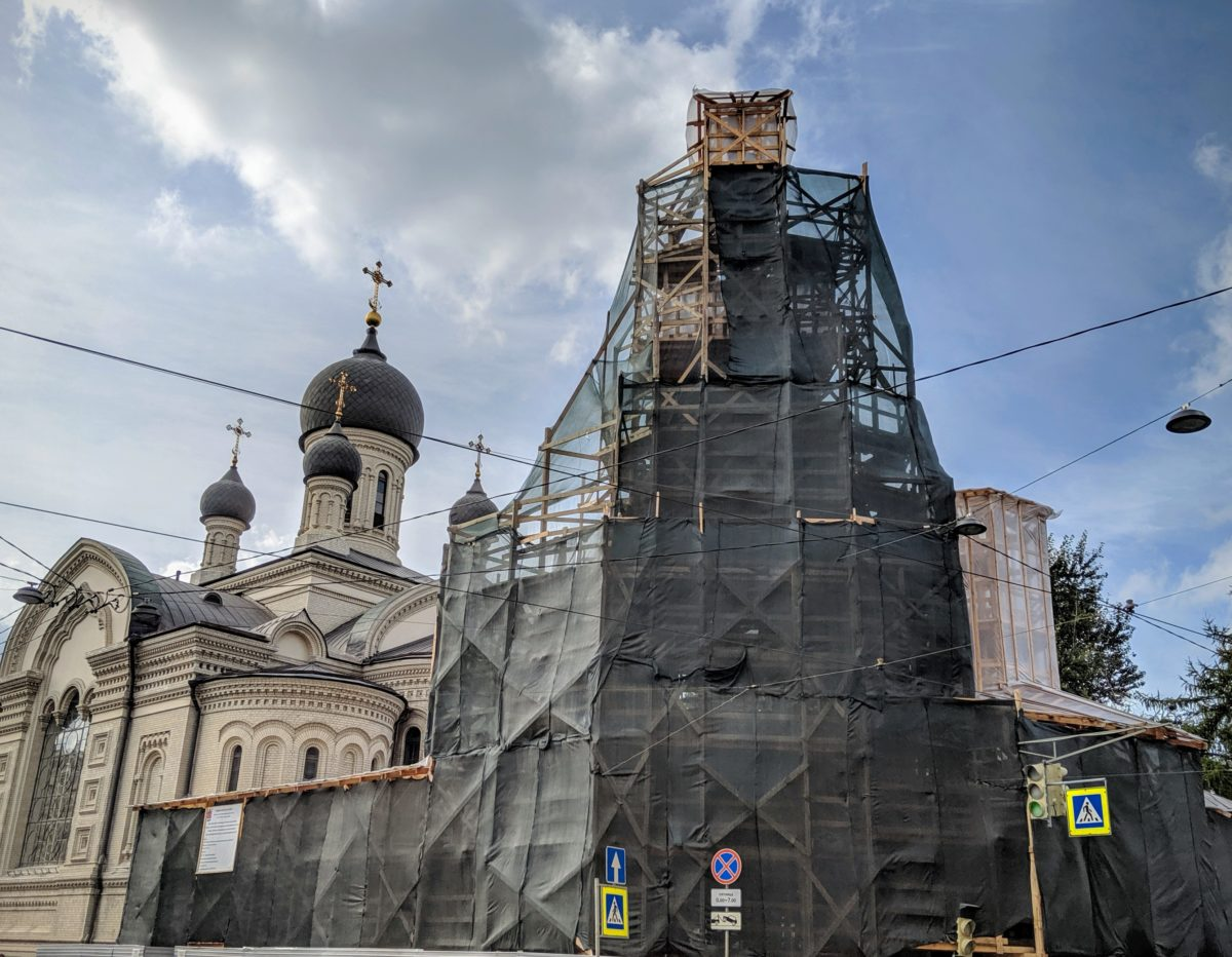 Sankt Petersburg under Construction
